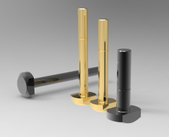 Autodesk Inventor 3D CAD Model of Bolt for T Slot M8X60