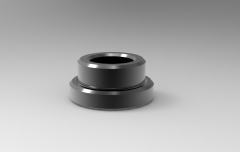 Solid-works 3D CAD Model of Bush for Carr Lock Back-Mount, ID-25mmB-0.826(Inch)