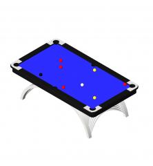 Modern pool table  revit model