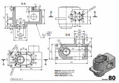 3 & 5 Axis CNC Machinable 2D CAD drawings 80