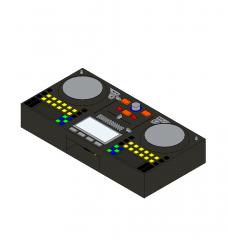 DJ Decks Revit family