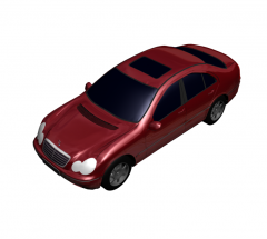 Mercedes C Class 3DS Max model