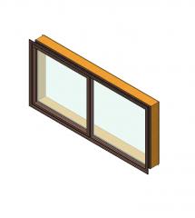 Awning window revit model
