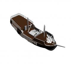 Shipwreck 3ds max model