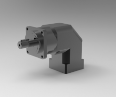 Autodesk Inventor 3D CAD Model of  Helical gearboxes,-L1-S5