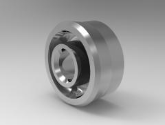 Solid-works 3D CAD Model of Piston Seals, Fd (mm)6Fd (mm)15 h-8