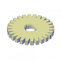 Modello Gear 3D AutoCAD