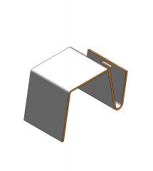 Magazine coffee table Revit object