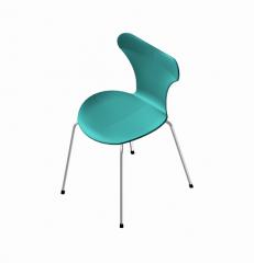 silla de plástico moldeado