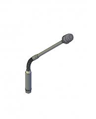 Podium microphone 3D CAD model