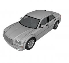 Chrysler 300 modello di abbozzo