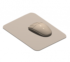 PC Mouse 3DS Max model