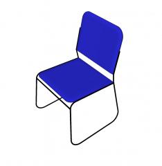 Stapelbarer Stuhl Sketchup Modell