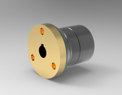 Autodesk Inventor ipt file 3D CAD Model of Indexing Mechanisms, OD=52Bore with keyway=K 16
