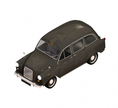London taxi 3DS Max model