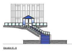 Proposed Entrance Steps CAD dwg