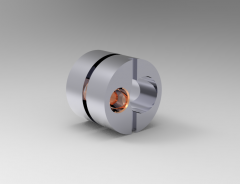 Solid-works 3D CAD Model of Eccentric Bush for Side Thrust Pin, d1-10d2-16d3-16Thread-M4h-12