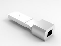 Autodesk Inventor ipt file 3D CAD Model of Mechanical Adaptors: End fitting=9 x 12        Mass(g)=135