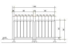 防护栏杆CAD DWG