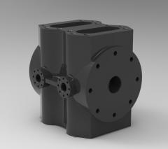 Inventor CNC Machinable Transmission box CAD Model 86