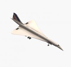 Concorde 3ds max block