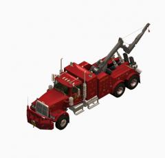 恢复卡车3D最大块