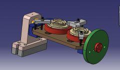 891 VMC Fixture CAD Model dwg. dibujo