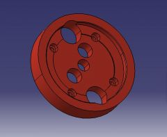 895 Locator plate CAD Model dwg. drawing