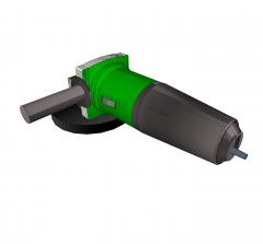 Angle grinder Sketchup model