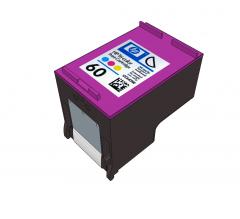 Ink cartridge Sketchup model