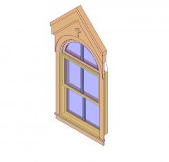 Janela janela modelo Revit