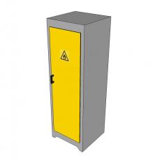 Chemical storage cabinet Sketchup model