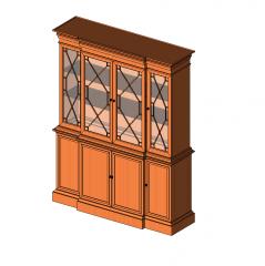 Display cabinet Revit model