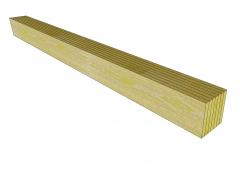 Glulam beam Sketchup model