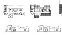 Beach House Design dwg