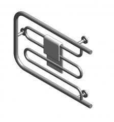 Heated towel rail Revit model
