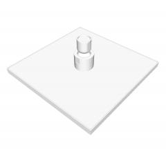 Drench Duschkopf Sketchup Modell