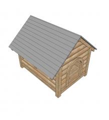 Dog kennel 3D Sketchup model