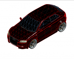 Audi A3 Revit-Modell