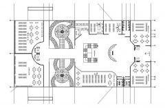 Layout di progettazione della libreria dwg