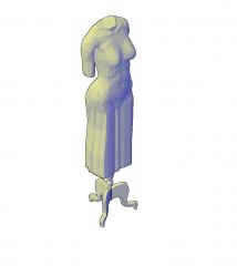Frau Mannequin dwg