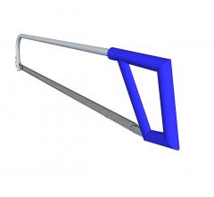 Hacksaw 3D SKetchup model