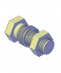 螺栓带弹簧垫圈