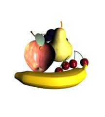 Fruit 3ds max block
