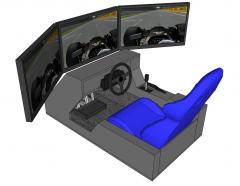 F1-Simulator Sketchup-Modell
