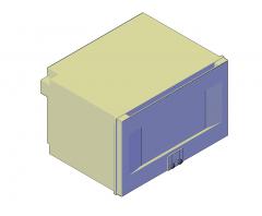 蒸汽烤箱3D DWG