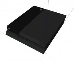 Modelo Sony Sketchup 4 Playstation 4