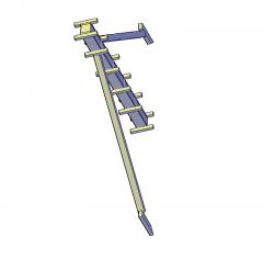 Column formwork 3D CAD dwg