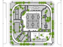 Public park landscape designs dwg