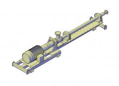 インジェクションポンプ3D CADモデル